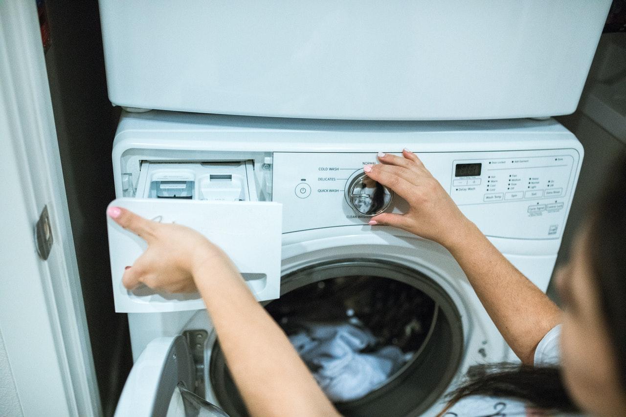 ドラム式洗濯機のカビ対処方法