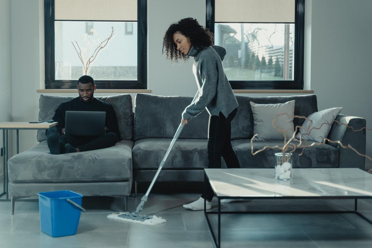 フローリング掃除の基本
